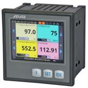 Universalus keturių kanalų reguliatorius su duomenų įrašymu AR654