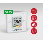 Bevielis temperatūros, drėgmės, slėgio bei CO2 koncentracijos jutiklis Aranet4 PRO