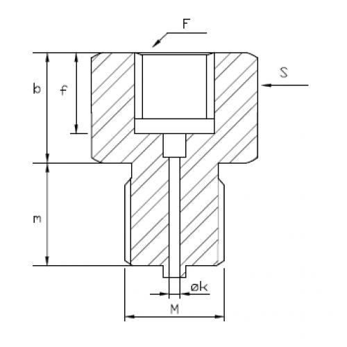 Adapteris G1/4F – G1/2M