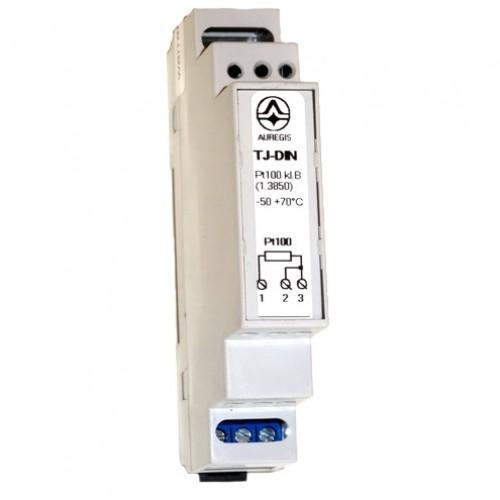 Temperatūros jutiklis TJ-DIN (35 mm DIN bėgeliui)