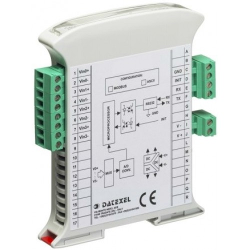 Signalo keitiklis DAT3014 (su programuojamu įėjimu)