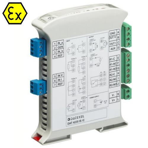 Signalo keitiklis su fiksuotos vertės aliarmu DAT4235IS (ATEX)