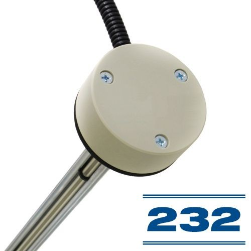 Kuro lygio jutiklis E2703 su RS-232 sąsaja