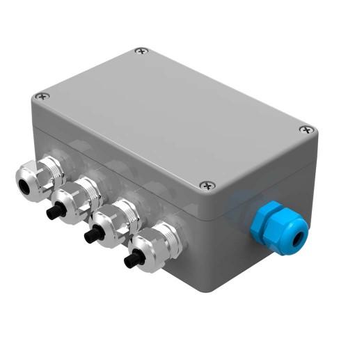 Grūdų temperatūros matavimo sistemos tinklo skirstytuvas GWNET11