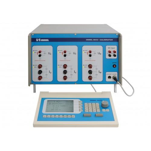 Kalibratorius Inmel 8031, 8033 – kintamosios srovės, galios ir energijos
