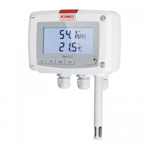 Drėgmės ir temperatūros keitiklis TH 210-R