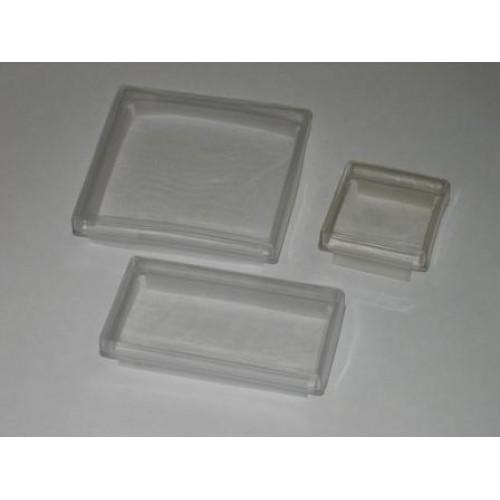 Apsauginiai skaidrios gumos gaubteliai prietaisams (IP65)