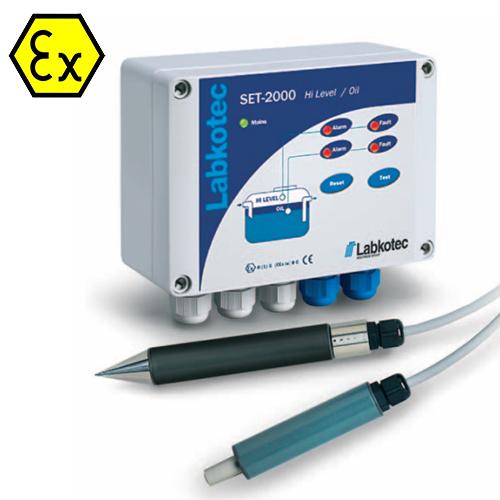 Lygio signalizatorius ir alyvos / naftos produktų monitoringo sistema SET-2000 HiLevel/Oil