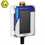 Saulės energijos maitinama lygio signalizavimo sistema su švyturiu SolarSet Beacon
