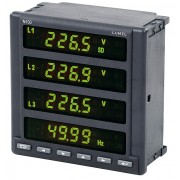 Еnergetinio tinklo parametrų analizatorius su ekranu ir duomenų įrašymu N100