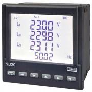 Energetinio tinklo parametrų analizatorius ND20