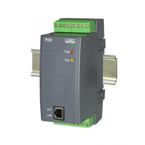 Keitiklis PD8 (RS-485 – Ethernet)