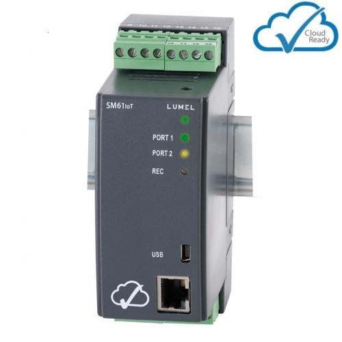 Duomenų kaupiklis, registratorius SM61IoT (su Ethernet, MQTT)