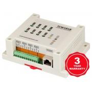 Ethernet skaitmeninių įvesčių-išvesčių modulis TCW181B-CM
