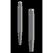 Išgręžtos (monolitinės) termokišenės, apsauginės gilzės D, DS
