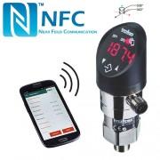 Slėgio relė-keitiklis-duomenų kaupiklis DPC 8380 su ekranu ir NFC