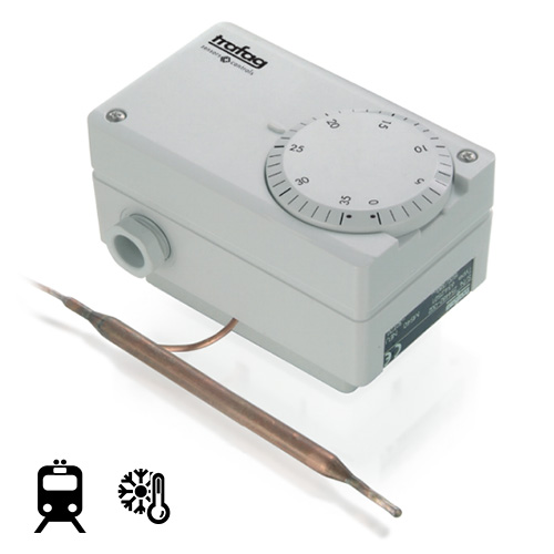 Termostatas M/MS 624/634 (mechaninis, su išoriniu temperatūros nustatymu)